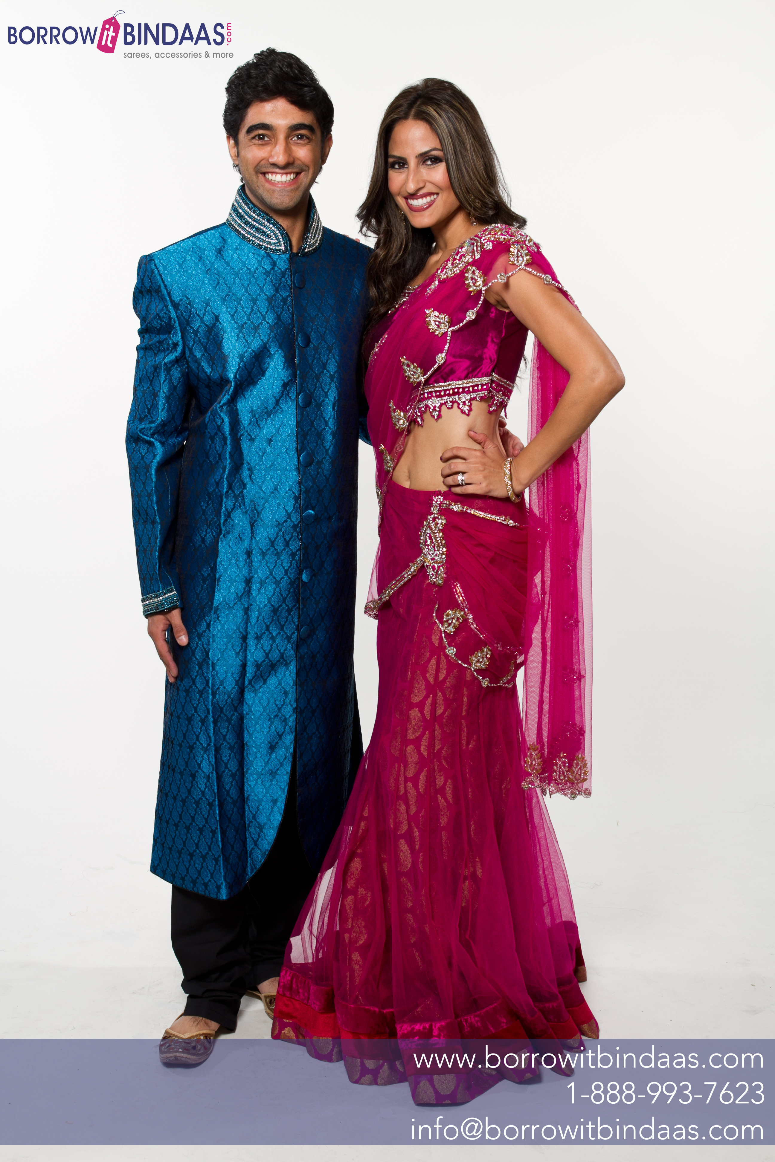Rent your worries away check out these 3 sari rental Married to design