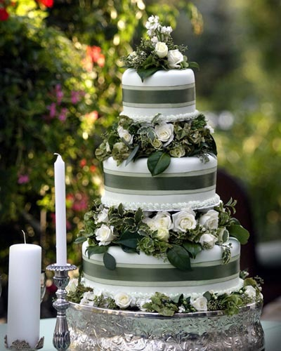 forest green wedding cake fall 2012 top autumn wedding colors tanarievents 14405