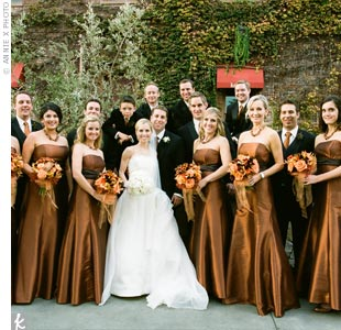 Fall 2012 Top Autumn Wedding Colors