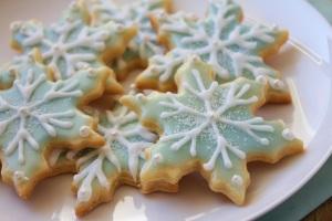 013 snowflake cookies