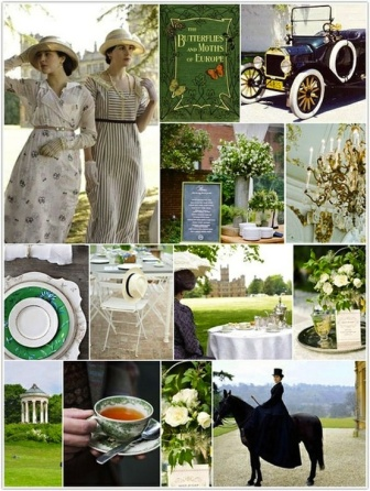 downton-abbey-wedding-inspiration-board
