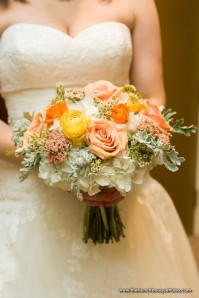 Coral-Peach-Bridal-Bouquet-The-French-Bouquet-Chris-Humphrey-Photographer