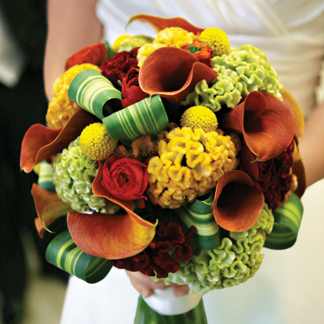 Wedding Flowers For November: Fall Floral Favorites!