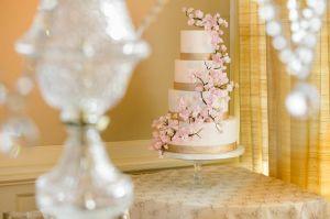 Ana Parzych Custom Cakes Wedding Cakes NYC CT Cherry Blossoms 2
