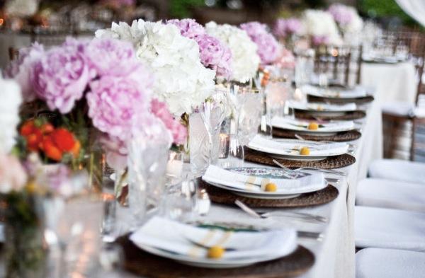 Pink Peony Wedding Bouquet1 Centerpiece