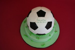 Soccer Ball Groom's Cake