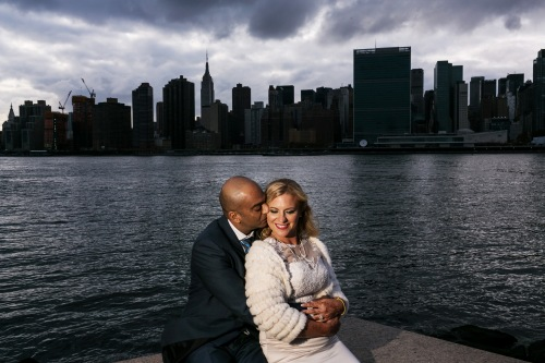 From Cathy and Raj's wedding in Long Island City. Photos by STAK Studios | www.getstak.com